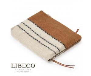 Libeco Etui Foundry beeswax stripe