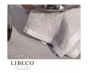 Libeco Servietten Set Frascati fig (6 Stück)