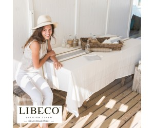 Libeco Tischdecke Giulia stripe