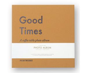 """Printworks kleines Coffee Table Photo Album """"Good Times"""""""