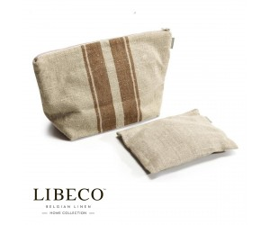 Libeco Kosmetiktaschen-Set Grainhall Stripe