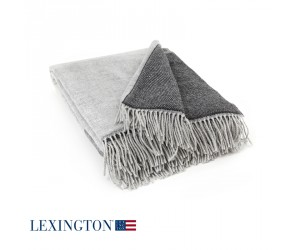 Lexington Plaid Urban Striped wool grau