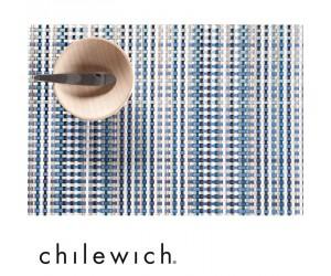 Chilewich Tischset Grid blau