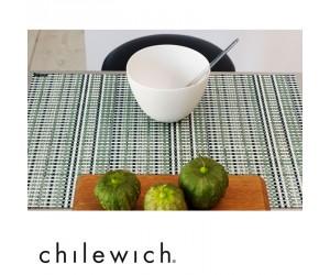 Chilewich Tischset Grid grün