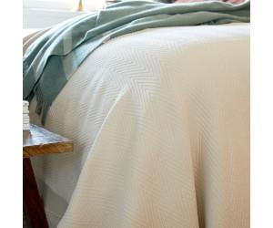 Lexington Fischgrätenmuster - Tagesdecke Hotel Herringbone Bedspread beige