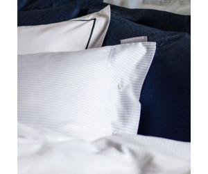Lexington Bettwäsche Hotel Tencel Stripe weiß/blau