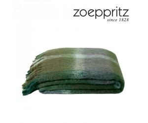 Zoeppritz Decke Hair grün-675