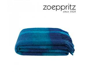 Zoeppritz Decke Hair blau-765