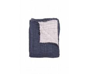 Himla Bettüberwurf Hannelin dunkelblau (2 Größen)