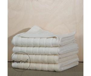 TrueStuff Handtuch Stripe cream