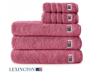 Lexington Handtuch Original dunkelpink