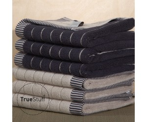TrueStuff Handtuch Stripe twilight