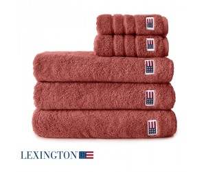 Lexington Handtuch Original etruscan red