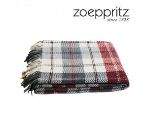 Zoeppritz Decke Herring check cherry-360