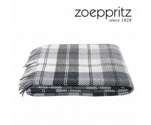 Zoeppritz Decke Herring check schwarz-980