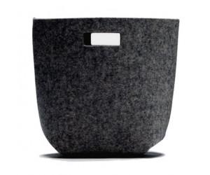 Hey-Sign Filz Papierkorb graphit -08 (3 Größen, Stärke: 5mm)