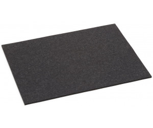 Hey-Sign Filz Tischset rechteckig graphit -08 (45x35cm, Stärke: 5mm)