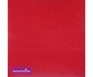 Farbenfreunde Dekokissen hibiscus rund
