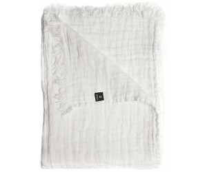 Himla Plaid Hannelin weiß / white (130 x 170cm)