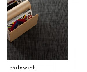 Chilewich Teppich Ikat deep grey