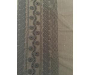 Okha/Sunday in Bed Kissenbezug stickkerei braun (35x 40cm)