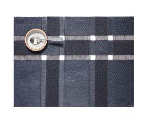 Chilewich Tischset Interlace rechteckig schwarz-grau -002 (36x48 cm)