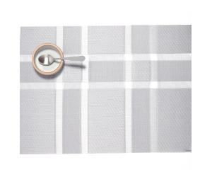 Chilewich Tischset Interlace rechteckig silber -003 (36x48 cm)