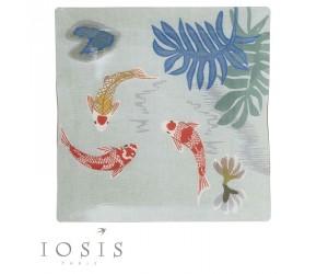 Iosis Tablett Trio blau-grau (celadon)