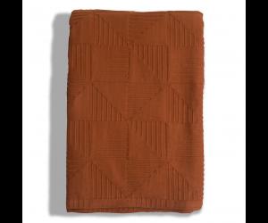 Lexington Baumwolldecke Jacquard Cotton Bedspread rust (2 Größen)