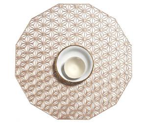 Chilewich Tischset Kaleidoscope rund rosé -002 (35,6 cm)