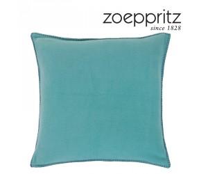 Zoeppritz Dekokissen Soft-Fleece opal dunkel