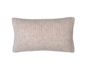 Zoeppritz Dekokissen Knitty sandstone (30 x 50 cm)