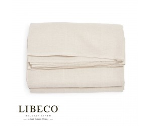 Libeco Spannbettlaken Heritage flax