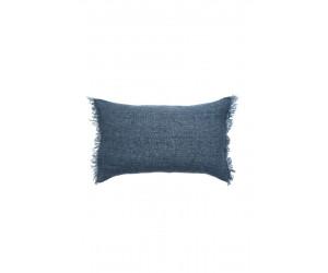 Himla Dekokissen Levelin jeansblau (40 x 60cm)