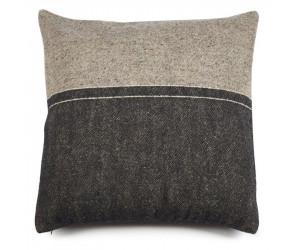 Libeco Dekokissen Lewis Stripe schwarz/grau (63 x 63cm)