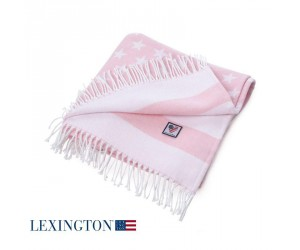 Lexington Baby Flag Throw rosa
