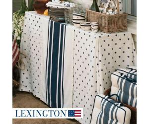 Lexington Tischläufer Striped Runner blau / weiß (50 x 250cm)