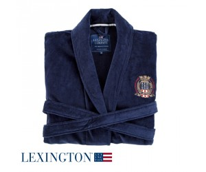 Lexington Bademantel Seaside navy