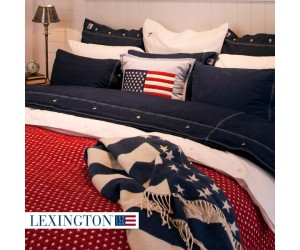 Lexington Tagesdecke Star rot