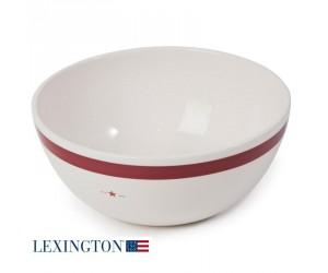 Lexington große Schüssel Star rot