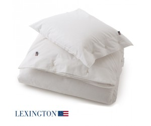Lexington Bettwäsche Authentic Pin Point Oxford weiß
