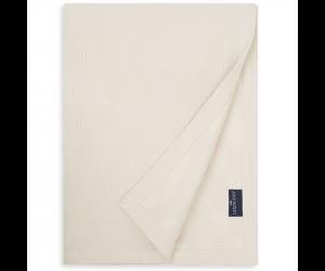 Lexington Bettüberwurf Jaquard Cotton Velvet off white ( 2 Größen)