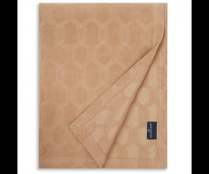 Lexington Bettüberwurf Jaquard Cotton Velvet dark beige ( 2 Größen)