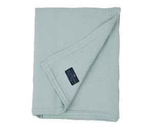 Lexington Bettüberwurf Quilt Cotton Bedspread hellblau gesteppt (2 Größen)