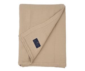Lexington Bettüberwurf Quilt Cotton Bedspread beige gesteppt (2 Größen)