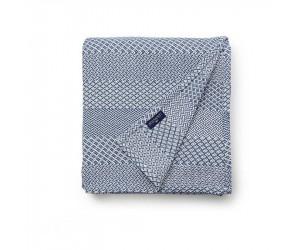 Lexington Bettüberwurf Structured Cotton in blau (160 x 240 cm)