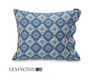 Lexington Kissenbezug Printed Sateen blau multi (40 x 80 cm)