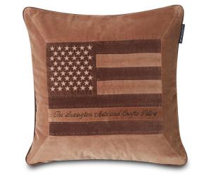 Lexington Dekokissen Arts & Crafts Cotton Velvet braun (50 x 50 cm)