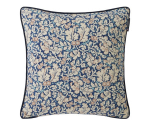Lexington Dekokissen Flowery Sham bedruckt blau/beige (50 x 50 cm)