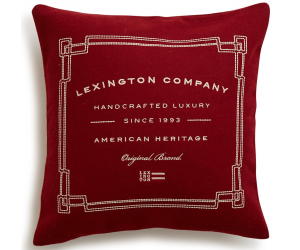 Lexington Dekokissen Syrah Wool Sham rot (50x50cm)